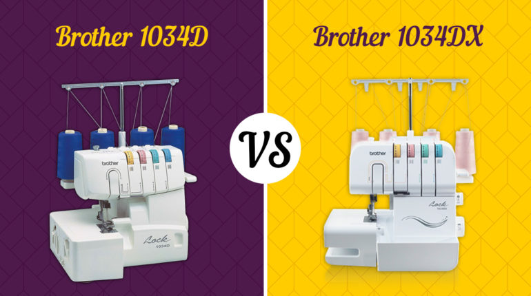 Brother 1034D vs. Brother 1034DX