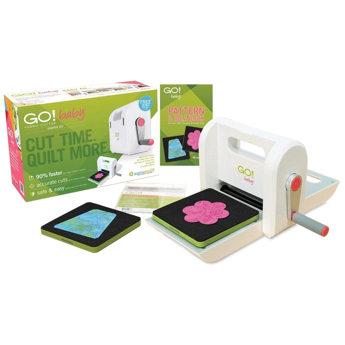 AccuQuilt GO Baby Fabric Cutter Review