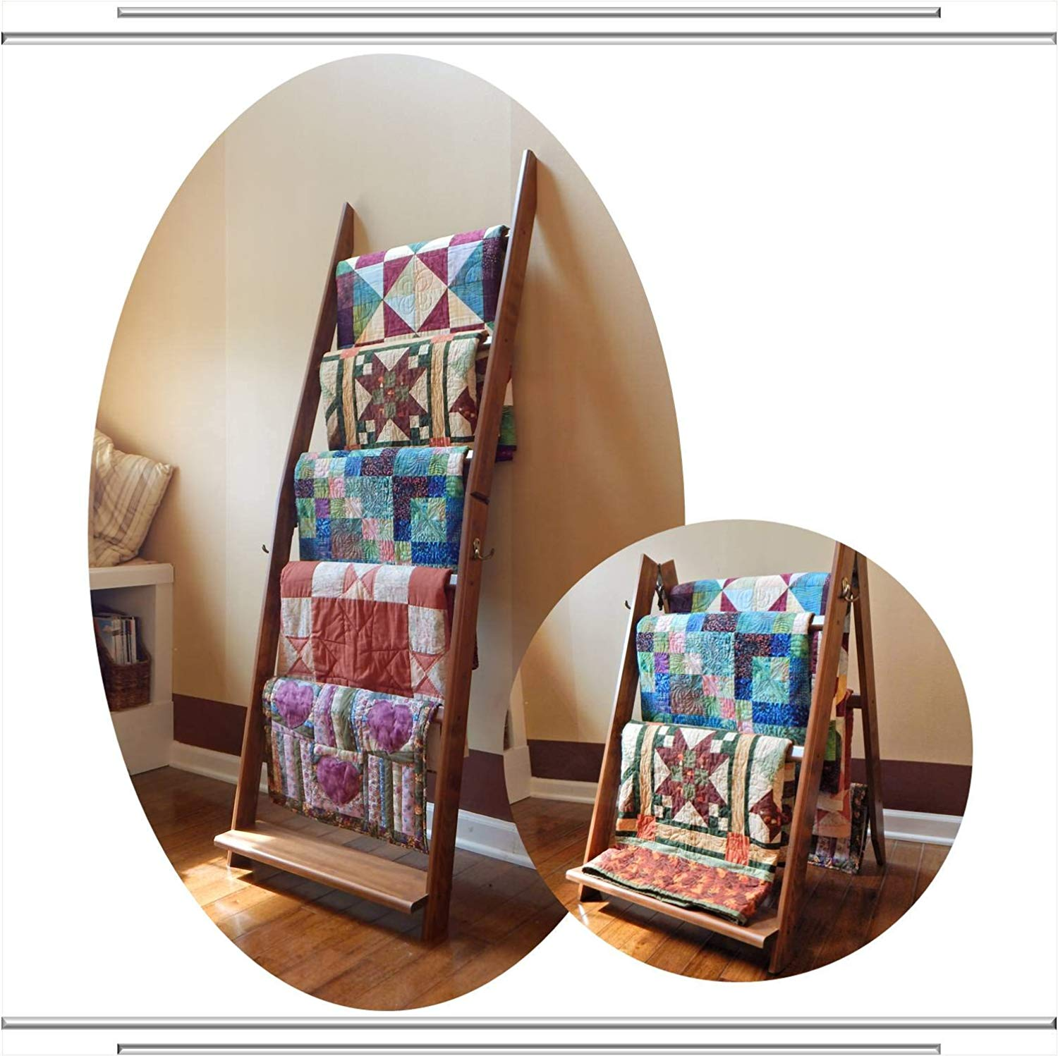LadderRack 2-in-1 Quilt Display Rack