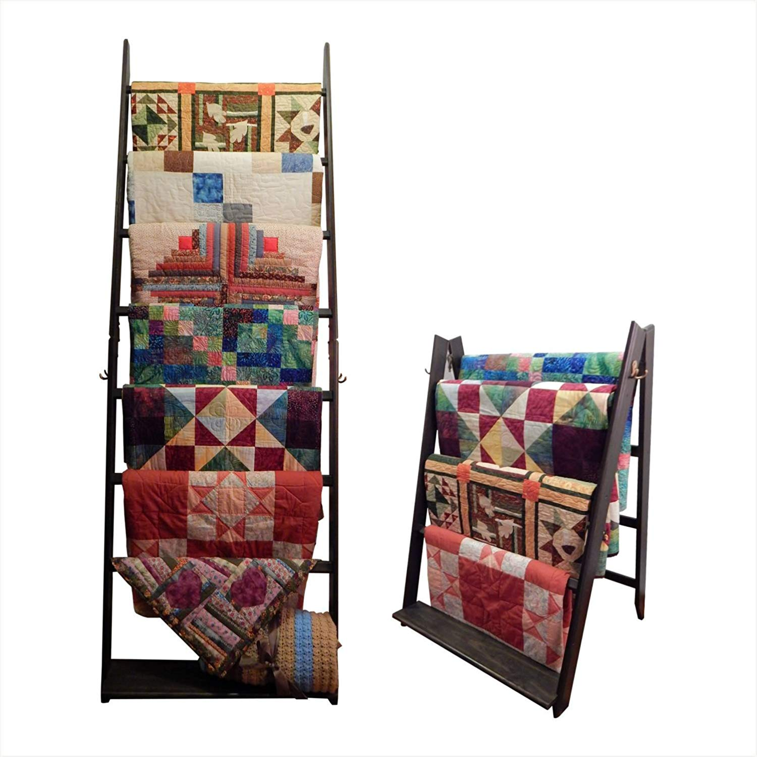 LadderRack Its 2 Quilt Racks in 1