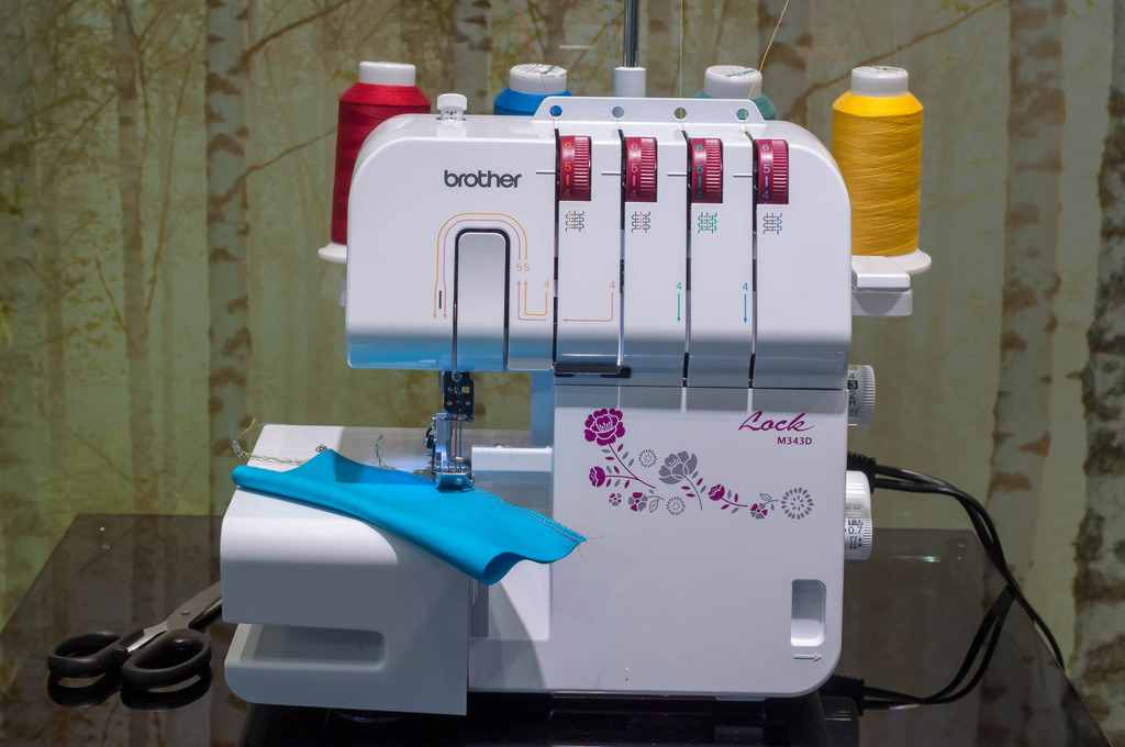 Serger-Overlock Stitch for Beginner's Guide Updated 2019
