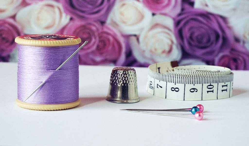 Sewing Needles, Pins and Thread