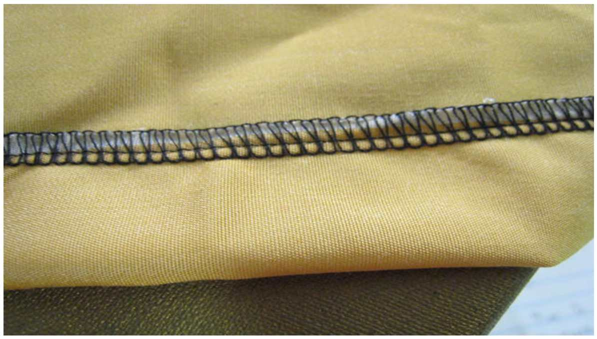 What is an overlock stitch
